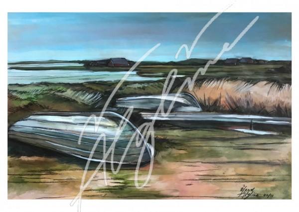 Postkarte: An der Ölandostküste